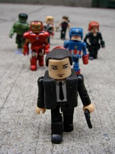 Marvel Minimates Agent Coulson