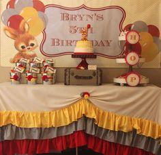 Bunny Themed Birthday Party with Lots of Cute Ideas via Kara's Party Ideas | KarasPartyIdeas.com #BunnyRabbit #Easter #Party #Ideas #Supplies #vintage #bunny