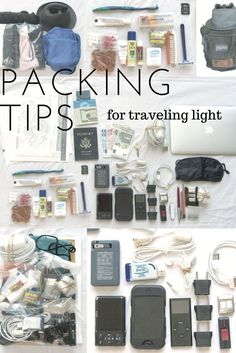 Packing tips for tra