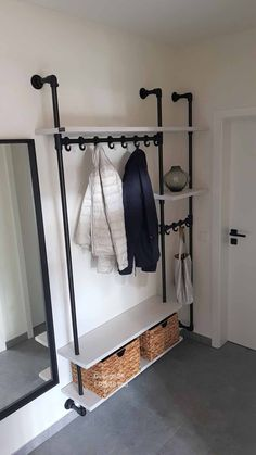 Entrance Ways, Dressing Room, Mudroom, Wardrobe Rack, Sweet Home, Bedroom Decor, New Homes, Home And Garden, Decoration