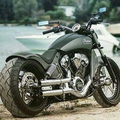 A number of upgrades bring the indian scout closer to the indian race bikes 2018 indian scout bobber Cool Motorcycles, Triumph Motorcycles, Indian Motorcycles, Indian Motorbike, Indian Bobber, Ducati, Hd Fatboy, Motos Harley Davidson, Motorcycle Style