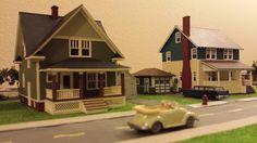 Whittemore HO Scale Train Table - Feb 2015 - Neighborhood