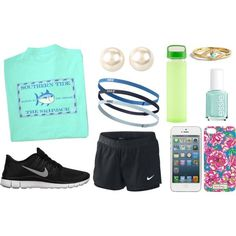 """Mint Green Summer ☼"" by evelynisabelle on Polyvore"