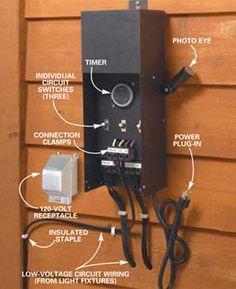 150 watt 12v low voltage landscape lighting transformer electrical how to install deck lighting low voltage outdoor lightingdeck lightinglandscape lightingtransformer workwithnaturefo