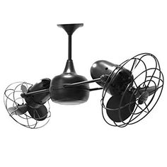 "Matthews Fan Company DD-MTL Duplo Dinamico 39"" Rotational Fan - Blades and Wall, Copper - - Amazon.com"