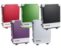 If It's Hip, It's Here: Pantone Hard-Sided Luggage To Go With The Pantone Luggage Tags. What A Trip.