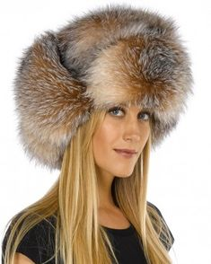 Shop FurHatWorld for the best selection of Premium Full Fur Russian Style Hats. Buy the Ladies Crystal Fox Full Fur Russian Hat by FRR with same day shipping. Russian Hat, Russian Fashion, Russian Style, 1980s Fashion Trends, Fox Fur Coat, Fur Coats, Vintage Trends, Vintage Ideas, Vintage Colors