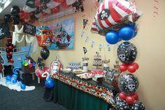 "Photo 10 of 12: Pirate Birthday Boy / Birthday ""Captain Qimie 2yr Old""   Catch My Party"