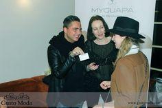@myguapa at the Gusto Moda Official Launchparty #Amsterdam www.gustomoda.com