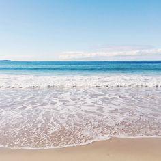 ocean blues in Winter Sydney Australia