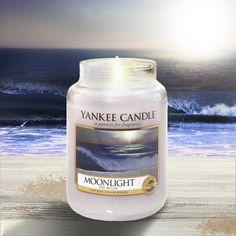 Yankee Candle Moonlight voto: 8,5.  Note di testa : bergamotto. Note di cuore: legno di fico e bambù. Note di fondo : legni e patchouli.