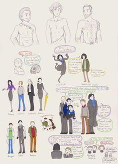 Sherlock sketches 2 by humon.deviantart.com on @DeviantArt