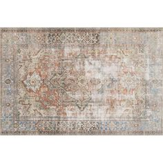 Bloomsbury Market Skye Terracotta  Area Rug & Reviews | Wayfair