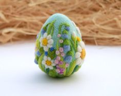Dell'ago infeltrito uova Pasqua decorazioni Pasqua regalo Ago