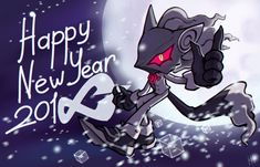 Happy New Year! by KetrinDarkDragon