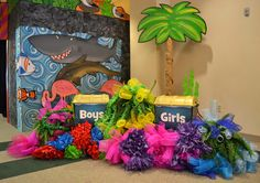 Collect mission money in fun trunks like these at Ocean Commotion VBS 2016