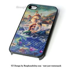 The Little Mermaid World iPhone 4 4S 5 5S 5C 6 6 Plus Case , iPod 4 5 – Resphonebility