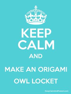 Go create yours now.   www.mariecope.origamiowl.com