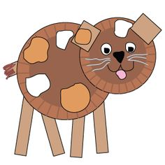 I love paper plate crafts, especially animals!