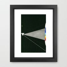 Solar composition II Framed Art Print by anipani - $36.00