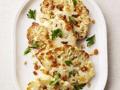 Roasted Cauliflower Steaks Recipe : Valerie Bertinelli : Food Network