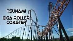 Planet Coaster: Tsunami Giga RollerCoaster