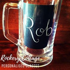 Pyrography Engraving & Digital Hand-Lettering & Design by RockeryCottage Best Gifts For Men, Gifts For Dad, Fathers Day Gifts, Personalised Glasses, Personalized Gifts, Romantic Ways To Propose, Beer Gifts, Custom Glass, Corporate Gifts