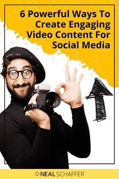 Videos are the most popular content type on social media. Discover how to create engaging video content for social media with these tips. Social Media Video, Social Media Trends, Social Media Channels, Social Media Content, Facebook Marketing, Content Marketing, Social Media Marketing, Twitter Tips, Social Business