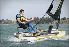 TIWAL INFLATABLE SAILING DINGHY - http://www.gadgets-magazine.com/tiwal-inflatable-sailing-dinghy/