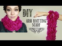 Bufanda infinita con las manos / Infinite scarf with your hand( English Subtitles) - YouTube
