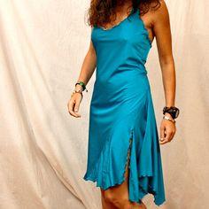 blue stretchy Tango dress by PamelaCreazioni, €80.00