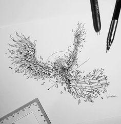#phoenix #tattoo #kerby