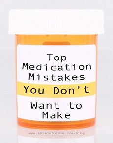 Medication Mistakes to Avoid