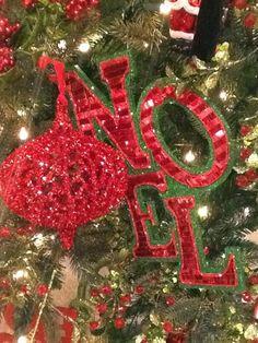 Christmas noel sign,  noel ornamets decor for 2013 Christmas tree, Christmas home decor #2013 #Christmas #easy #DIY #noel #sign www.loveitsomuch.com