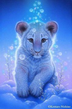 leão branco bebê   - Mystik - #bebê #branco #Leão #Mystik