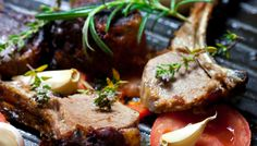 Low Carb Herb-Crusted Lamb Chops Recipe