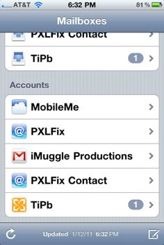 Daily tip: changing the default mail account on your iPhone or iPad