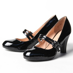 RUCHE madelina double strap heels in black - $34.99