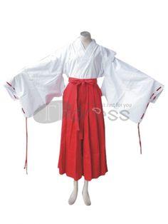 InuYasha Cosplay-InuYasha Kikyo Cosplay Costume