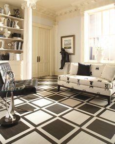 vinyl tile goes classy