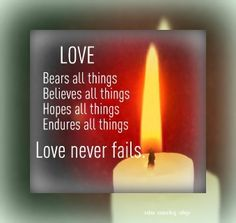 """Love never fails."" Self improvement and counseling quotes. Created and posted by the Online Counselling College. Counselling Training, Counseling Quotes, Topics To Talk About, Love Bears All Things, Love Never Fails, Meaning Of Love, Personal Goals, Relationship Issues, Learning Centers"