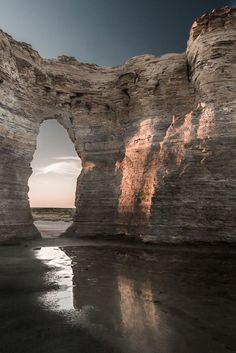 Monument Rocks National Natural Landmark, Kansas, USA: