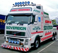 Volvo FH  - Sovereign Recovery Volvo Trucks, Tow Truck, Recovery, Vehicles, Survival Tips, Healing, Vehicle, Tools