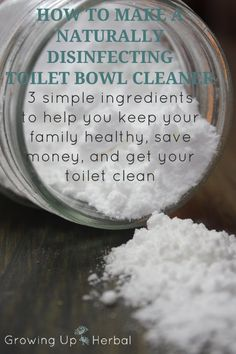 Disinfecting Toilet Bowl Cleaner