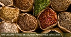 Camellia brand beans - the ONLY dried beans for my red beans, butter beans, crowders, white beans, field peas, lady cream peas. The best! And you can order them online too.