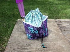 Large  KNITTING / CROCHET  Project Bag by StitchedNaturally, $44.00