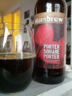Slumbrew Porter Square Porter: a bit sharp, chocolatey and smokey. Good.