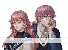 Twitter Pretty Art, Cute Art, Legends Of Legends, Anime Manga, Anime Art, Anime Boy Zeichnung, Character Art, Character Design, Handsome Anime Guys