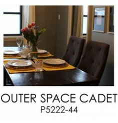 Outer Space Cadet for the walls in Meredith's Dining Room | Newberrysykes.com #parablogcrew #greypaint #narrowdiningroom