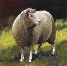 Image result for paintings of sheep